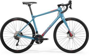 Merida Silex 4000 Stahlblau/Rot